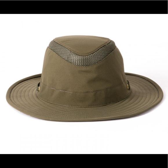 74a2201a EUC Men's Tilley Airflo Hat size 7 1/2 Olive. M_5c749ecc0cb5aa82ab16c93e
